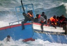 African migrants flee Libya
