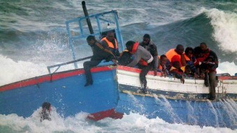 Africans Flee Fighting In Libya: NATO And Italians Accused Of Leaving Migrants To Drown
