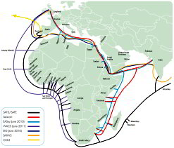 Undersea 100 G-Tech Undersea Fiber-Optic Cable To Link Africa