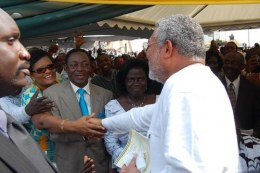 Rawlings Tackles Mills In Ruling Party Battle