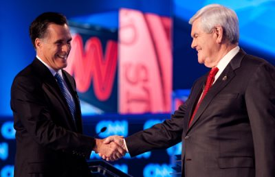 "Romney Wins Florida: Gingrich Uses ""Grand Wizard"" Tactics"