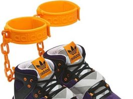 Adidas Criticized For 'Shackles' Sneakers