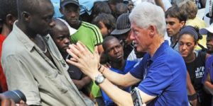 Clintons Land In Haiti To Showcase Industrial Park