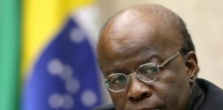 Joaquim Barbosa, Elected First Black President Of Brazil's Supreme Court
