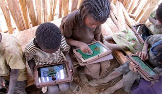 Ethiopian Kids Hack Tablet PCs With No Training Or Instructions