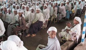 Why is the birth rate in Israel's Ethiopian community declining?