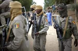 Chadian Troops in Kidal