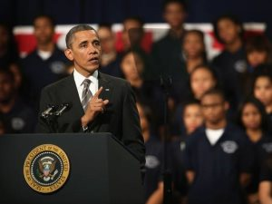 President Obama's speech in Chicago