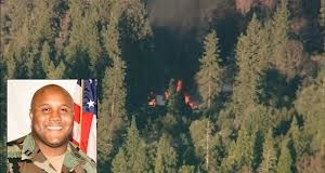 Christopher Dorner burned alive
