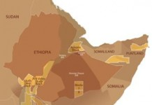 Ethiopia OIl Map