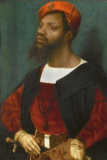 Jan Mostaert's portrait Black people