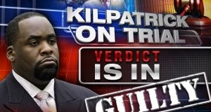 Kwame Kilpatrick Detroit Mayor Vonvicted