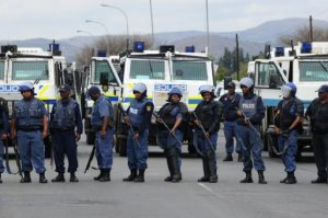 South African Miners Strike