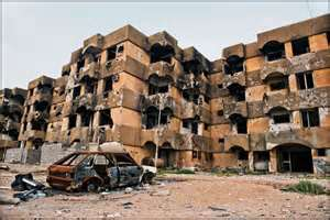 Libyan Rebels Turn Black Cities Into Ghost Towns