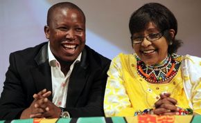 Both Winnie mandela and Julius Malema are being investigated by SA police