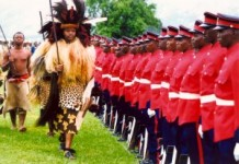 King Mswati III Absolute Monarch