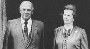 Margaret Thatcher Apartheid Botha
