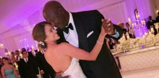 Michael Jordan Wedding