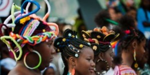 Afro Colombian Hair Competition
