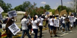 Anti Homosexual March in Jamaica