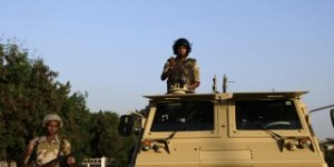 Army Deploys Throughout Egypt