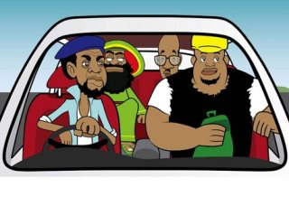 Cabbie Cahronicle Jamaican Animation