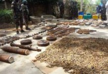 Hezbollah Weapons Discovered Northern Nigeria