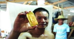 Illegal chinese Miners in Ghana
