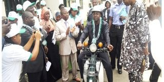 First Made-in-Nigeria Motorcycle