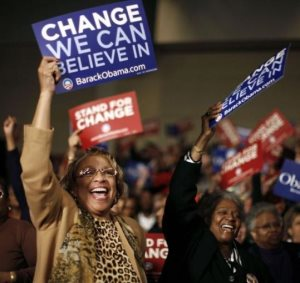 Obama Supporters 2008