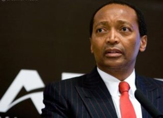 South African Billionaire Patrice Motsepe