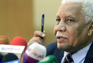 Sudan Information Minister and Government Spokesperson Ahmed Bilal Osman