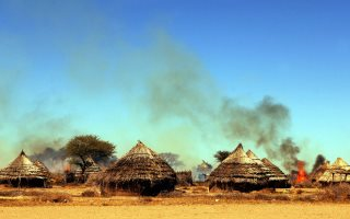 Sudan Scorched Earth Policy