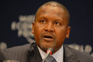 Dangote Hits U.S.$20 Billion Mark, Now 25th Richest in the World