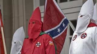 kkk Cross Burning