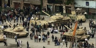 Coup in Egypt