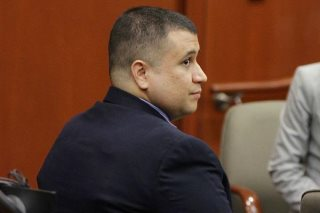 Creepy George Zimmerman