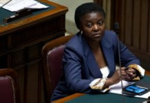 Italy Racism Row Cecile Kyenge