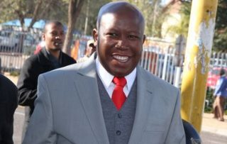 Malema's Economic Freedom Fighters Committed to Taking Back African Land