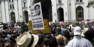 Justice For Trayvon Martin Demonstrations