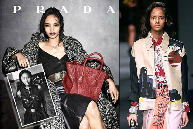 Malaika Firth The New Face Of Prada
