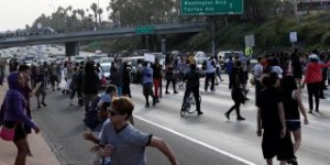 Trayvon Martin Verdict Protests Turn Violent
