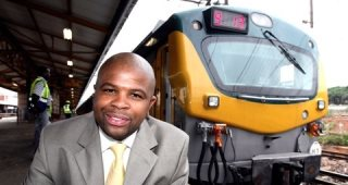 South Africa's Tshepo Lucky Montana Rides the Rails