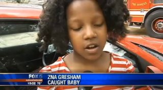 10-Year Old Hero Zna Gresham