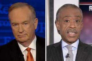 Al Sharpton Bill Oreilly