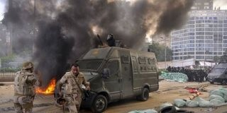 Egypt Militart Crackdonw On Protesters