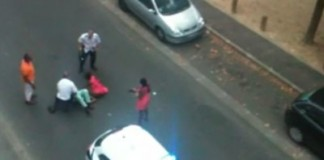 French Police Beat Black Woman Then Spray Tear Gas In Her Face