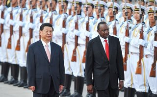 Kenya President Visit To China