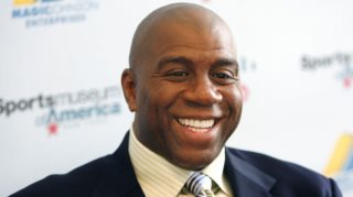Magic Johnson Opens School In Chicago
