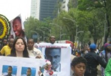 Malcolm Latif Shabazz Assassination Protest El Angel Mexico City